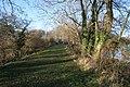 Footpath at Denton Reservoir - geograph.org.uk - 1128253.jpg