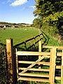 Footpath at Trindledown Farm - geograph.org.uk - 73740.jpg