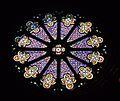 Forcalquier - rosace cathédrale.JPG