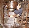 Forging of Damascus Steel in Solingen 03.JPG