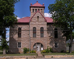 Llano County Courthouse and Jail - The former Llano County Jail