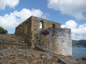 Virgin Islands National Park - Fort Willoughby, Hassel Island