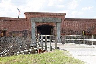 Fort Clinch - Image: Fort Clinch, Florida, U.S entrance