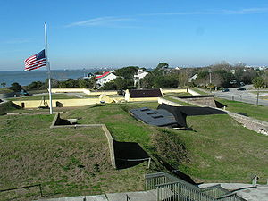 Fort Moultrie - Image: Fort Moultrie National Monument
