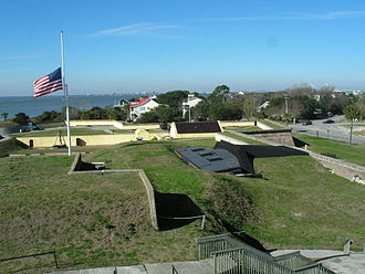 William Moultrie - Fort Moultrie, in 2006