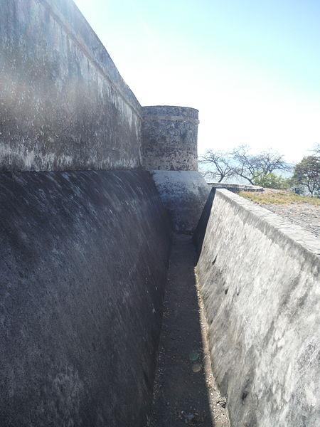 File:Fosa del fuerte de la Isla de Mezcala.JPG