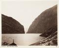 Fotografi av Näröfjorden, Sogn, Norge - Hallwylska museet - 104746.tif