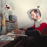 Fotothek df n-19 0000254 Funkzirkel, Gesellschaft für Sport und Technik (GST)