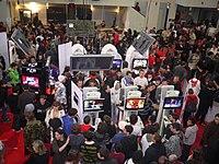 Foule - Toulouse Game Show - 27 novembre 2010 - P1570650.jpg