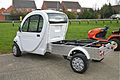 Fox Electric Vehicle, on show at Euromec Market Harborough - Flickr - mick - Lumix.jpg