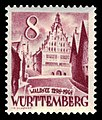 Fr. Zone Württemberg 1948 32 Rathaus Bad Waldsee.jpg