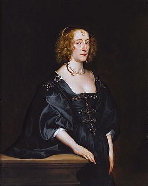 Frances Seymour, Duchess of Somerset - Frances Devereux (Anthony van Dyck)