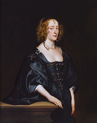 Frances Seymour, Duchess of Somerset - Portrait by Anthony van Dyck