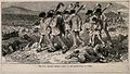 Franco-Prussian War; peasants going to bury the dead from th Wellcome V0015453.jpg