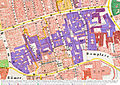 Frankfurt Am Main-Braubachstrasse Domstrasse-Bauliche Entwicklung und Ueberlagerung Technisches Rathaus-Ravenstein1862.jpg