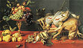 Frans Snyders - Game and fruit on a table - c. 1625.jpg