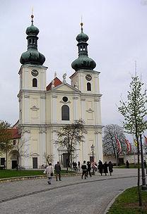 Frauenkirchen, Basilika, April 2005