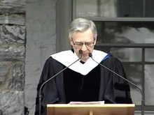 File:Fred Rogers Giving Commencement Speech at Middlebury College in 2001.ogv