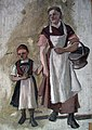Frederik Collett - Woman and Girl in Folk Costumes - NG.M.03077 - National Museum of Art, Architecture and Design.jpg