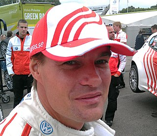 Fredrik Ekblom Swedish race car driver from Kumla