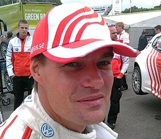 Fredrik Ekblom - Ekblom at the second Ring Knutstorp round of the 2011 Scandinavian Touring Car Championship season.
