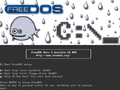 FreeDOS Beta 9 pre-release5 (boot splash) on Bochs sshot20040912.png