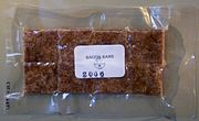 Freeze dried bacon bars (cropped)