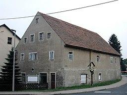 Dorfstraße in Freiberg