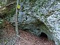 Freinberghöhle Eingang von aussen.JPG