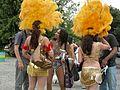 Fremont Solstice Parade 2007 - samba dancers at Gasworks 01.jpg