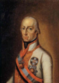 French School - Presumed portrait of Francis II, Holy Roman Emperor, pair.png