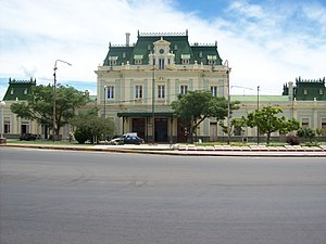 San Luis, Argentina - Former railway station (1907), today a cultural center