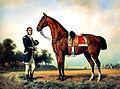 Friedrich Wilhelm Pfeiffer – Hagibert, ein Pferd von König Ludwig II. von Bayern.jpg