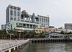 Fuji Broadcasting Center and Aqua City Odaiba, Tokyo, North view 20190419 1.jpg