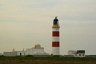 Point of Ayre Lighthouse - Image: Fyren Pointof Ayre