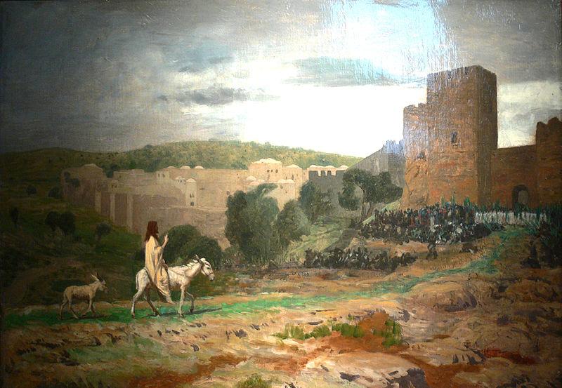 File:Gérôme - L'entrée du Christ à Jérusalem (esquisse).jpg