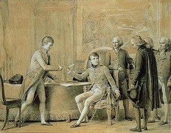 Наполеон ратифицирует Конкордат. Жерар (1801)