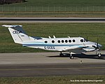G-OCEG Beech B200 SuperKing Air BE20 - CEG-Aviation (16051349630).jpg