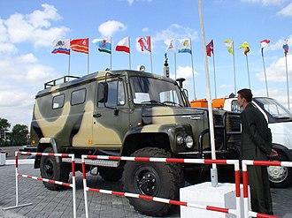 GAZ Sadko - Image: GAZ 330811 10 Wild Boar 1