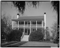 GENERAL VIEW, FROM SOUTH - Hext House, 207 Handcock Street, Beaufort, Beaufort County, SC HABS SC,7-BEAUF,11-5.tif