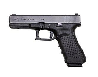"""Glock - Glock 17 Gen 4 """"fourth-generation"""" full-size model"""