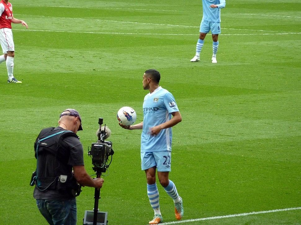Gael Clichy vs Arsenal 2012