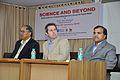 Ganga Singh Rautela - Iain Simpson Stewart - Anil Shrikrishna Manekar - Iain Stewart Lecture on Communicating Geoscience through the Popular Media - NCSM Kolkata 2016-01-25 9312.JPG