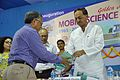 Ganga Singh Rautela Presents New Commemorative Film on MSE to Manish Gupta - Inaugural Function - MSE Golden Jubilee Celebration - Science City - Kolkata 2015-11-17 4979.JPG
