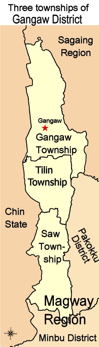 Gangaw District - Image: Gangaw District Burma 2010