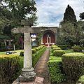 Garden and open chapel, Church of San Jerónimo Aculco, San Jerónimo Lídice, Magdalena Contreras, Mexico City.JPG
