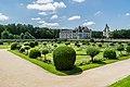 Garden of Diane de Poitiers in the Castle of Chenonceau 08.jpg