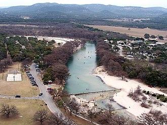 Frio River - Image: Garner state park