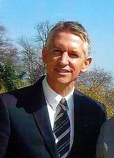 Gary Lineker English TV presenter and former footballer