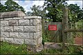 Gate at Terryhoogan near Scarva - geograph.org.uk - 482800.jpg